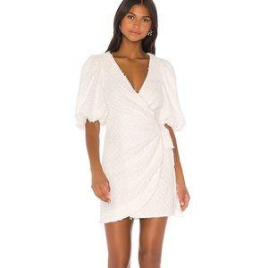 BRAND NEW LPA Kathy Dress in White